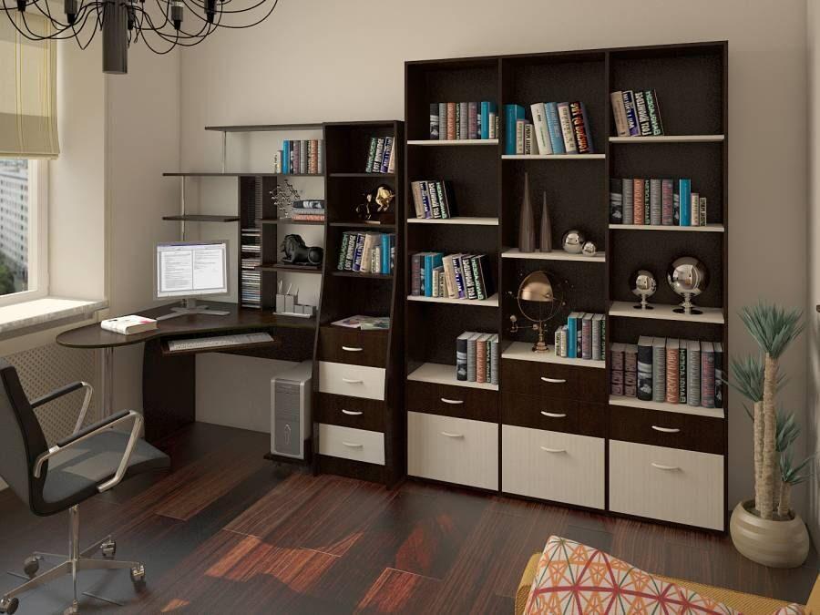 Столы для компьютера для дома (58 фото): красивые идеи, диза.